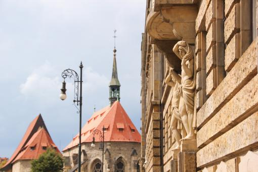Free Stock Photo of Prague Castle