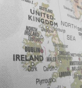Free Stock Photo of United Kingdom Map