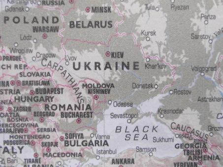 Free Stock Photo of Eastern Europe Map