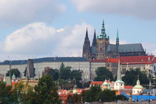 Free Stock Photo of Prague Cathedral Landsmark