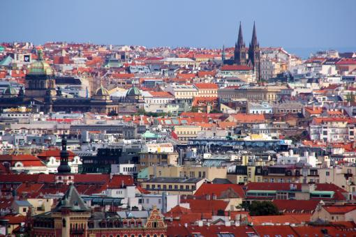 Free Stock Photo of Prague - View over the City
