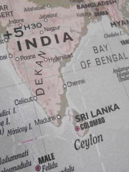 Free Stock Photo of India Map