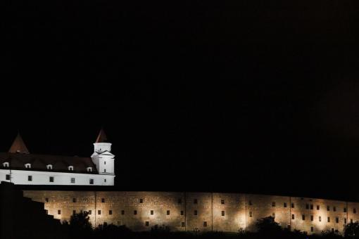 Free Stock Photo of Bratislava castle