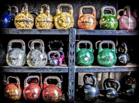 Free Stock Photo of Kettle bell Heaven