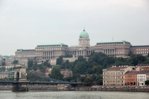 Free Stock Photo of Budapest castle