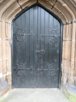 Free Stock Photo of Church door