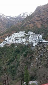 Free Stock Photo of Vaishno devi temple