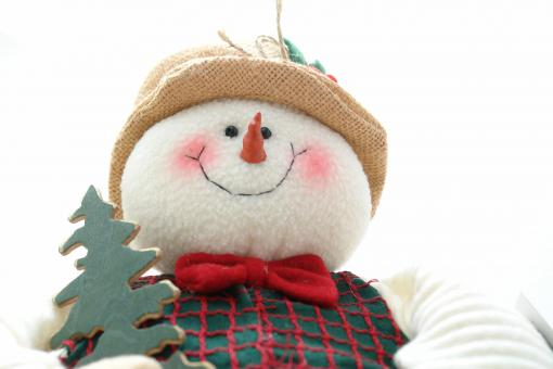 Free Stock Photo of Snowman