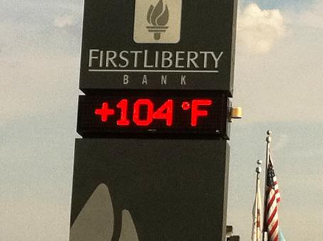 Free Stock Photo of Temperature Sign