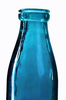 Free Stock Photo of glass bottle
