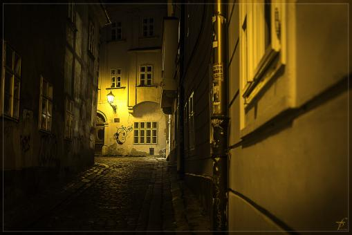 Free Stock Photo of Bratislava from day to night