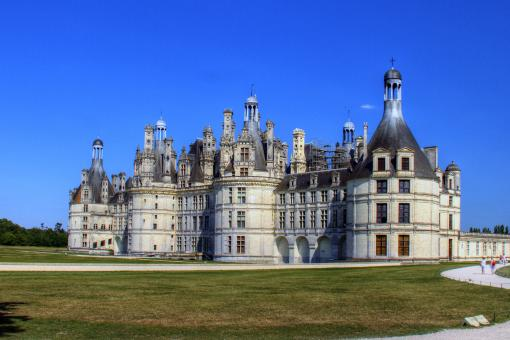 Free Stock Photo of Chambord castle