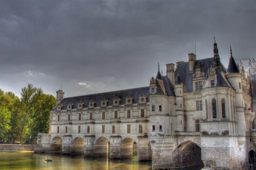 Free Stock Photo of Chenonceau castle
