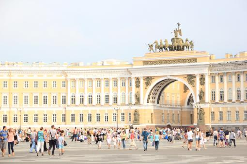 Free Stock Photo of Palace Square