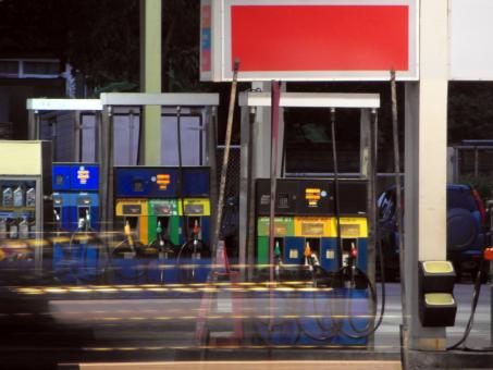 Free Stock Photo of Petrol Station Pumps