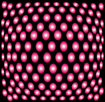 Free Stock Photo of Pink Dots