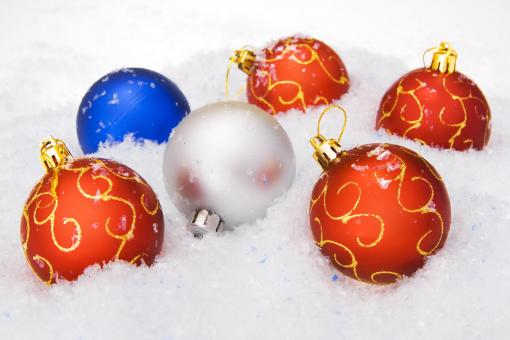 Free Stock Photo of christmas balls