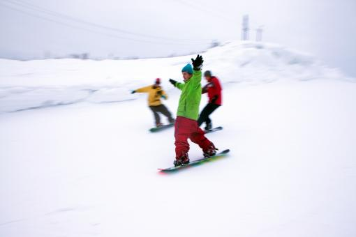 Free Stock Photo of Snowboarders