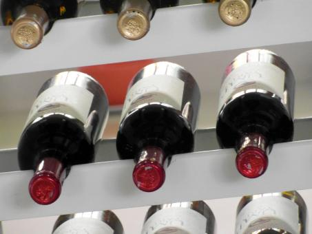 Free Stock Photo of Wine Rack