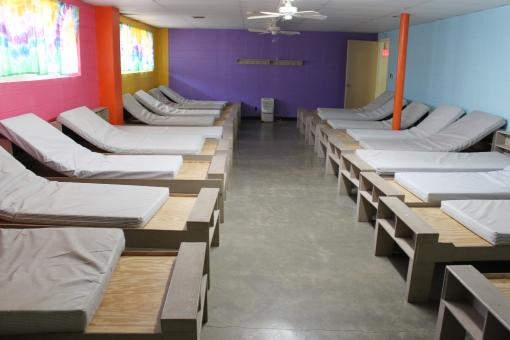 Free Stock Photo of Beds in the Dorm