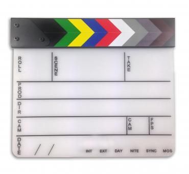 Free Stock Photo of Film clapper board
