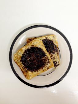 Free Stock Photo of Vegemite on toast
