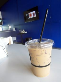 Free Stock Photo of Iced Coffee in a Cafe
