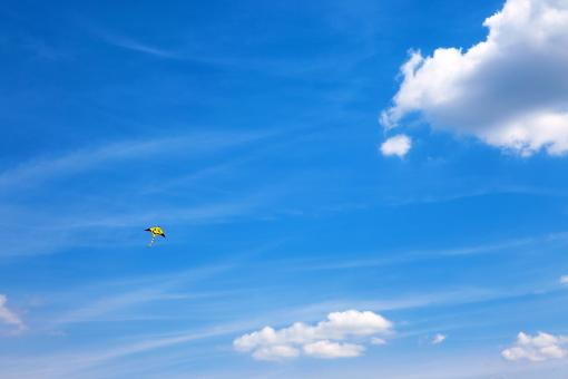 Free Stock Photo of kite flying in the sky