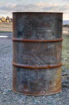 Free Stock Photo of Oil Drum