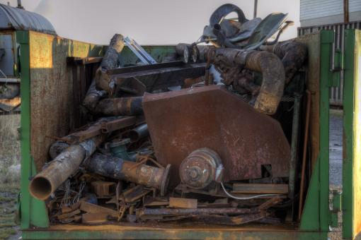 Free Stock Photo of Scrap Metal