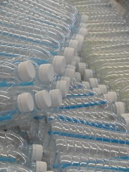 Free Stock Photo of Plastic Water Bottles