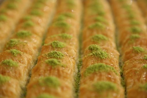 Free Stock Photo of Turkish Baklava