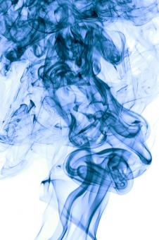 Free Stock Photo of blue smoke