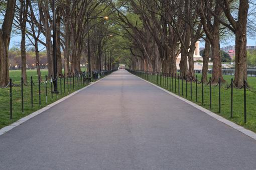 Free Stock Photo of National Mall Promenade - HDR