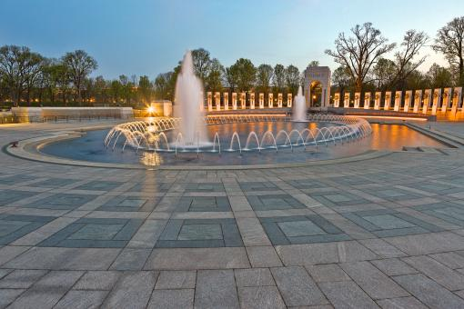 Free Stock Photo of Washington DC World War II Memorial - HD