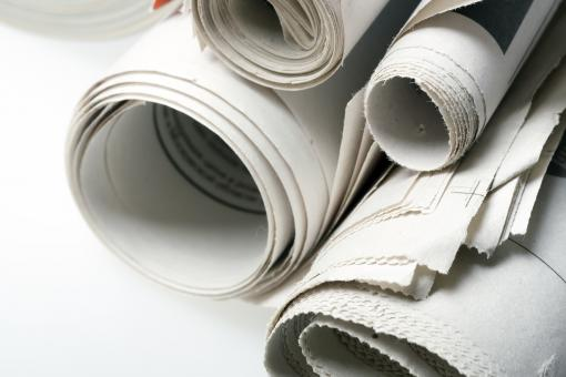 Free Stock Photo of Newspapers