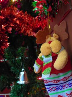 Free Stock Photo of Christmas Stocking