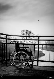 Free Stock Photo of Wheelchair