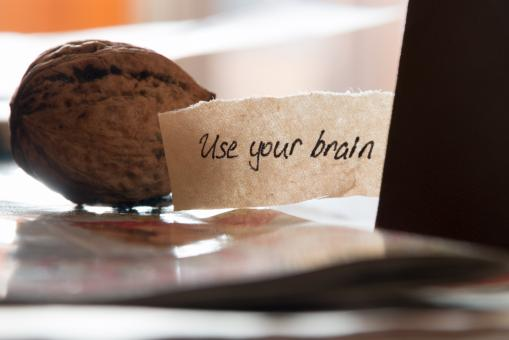 Free Stock Photo of Use your brain