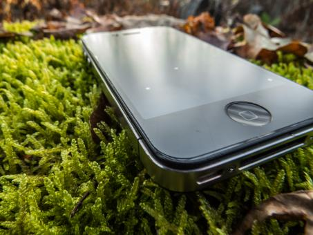 Free Stock Photo of Natural Iphone