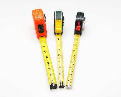 Free Stock Photo of Tape measures