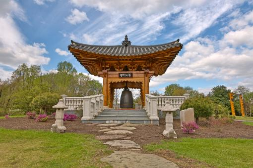 Free Stock Photo of Korean Bell Garden - HDR