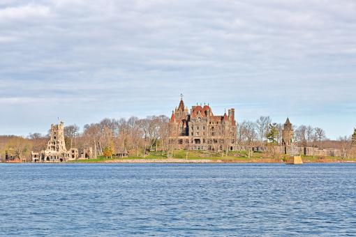 Free Stock Photo of Boldt Castle Coast - HDR