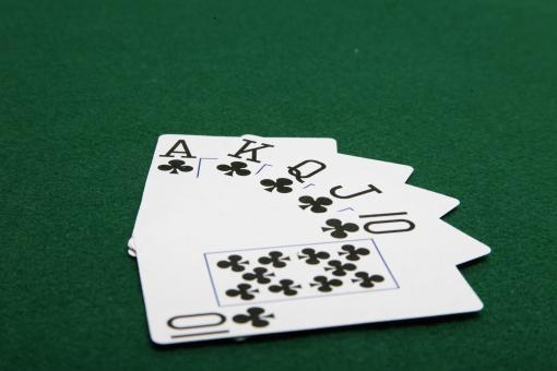Free Stock Photo of Poker hand -Straight