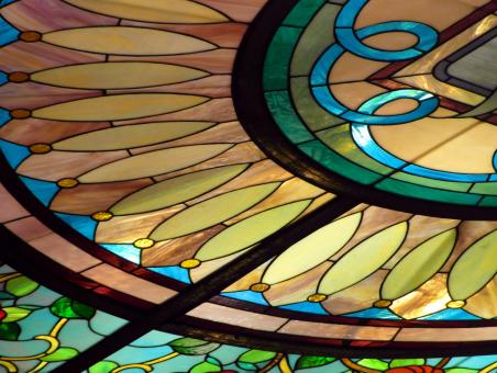 Free Stock Photo of Stained Glass Window