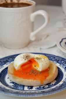 Free Stock Photo of Boiled egg