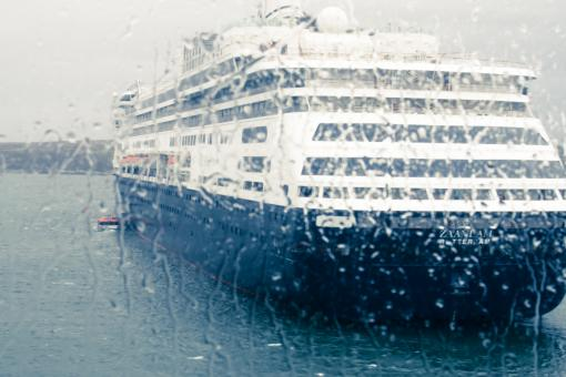Free Stock Photo of Cruise ship in the rain
