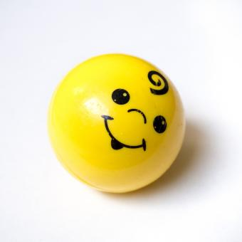 Free Stock Photo of Smiley face ball