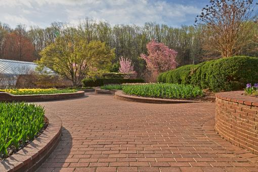 Free Stock Photo of Brookside Gardens - HDR
