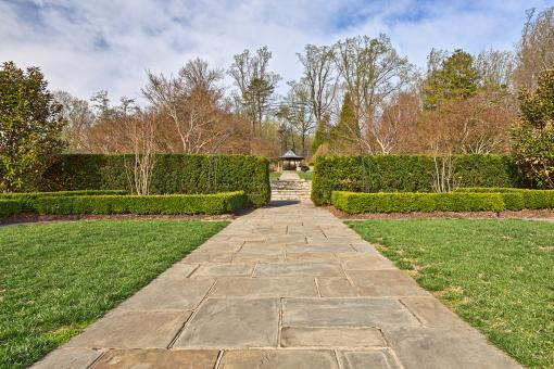 Free Stock Photo of Brookside Gardens Path - HDR